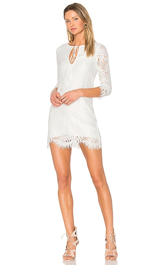 Lovers + Friends Marlie Mini Dress in White