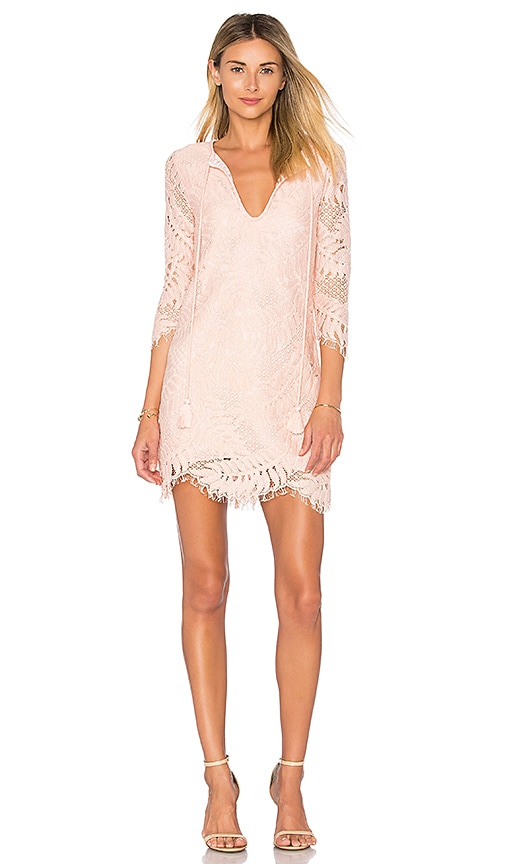 Lovers + Friends Marlie Mini Dress in Coral