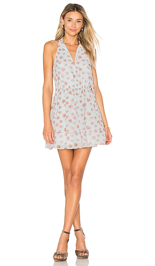 Lovers + Friends x REVOLVE Flower Blossom Dress in Baby Blue