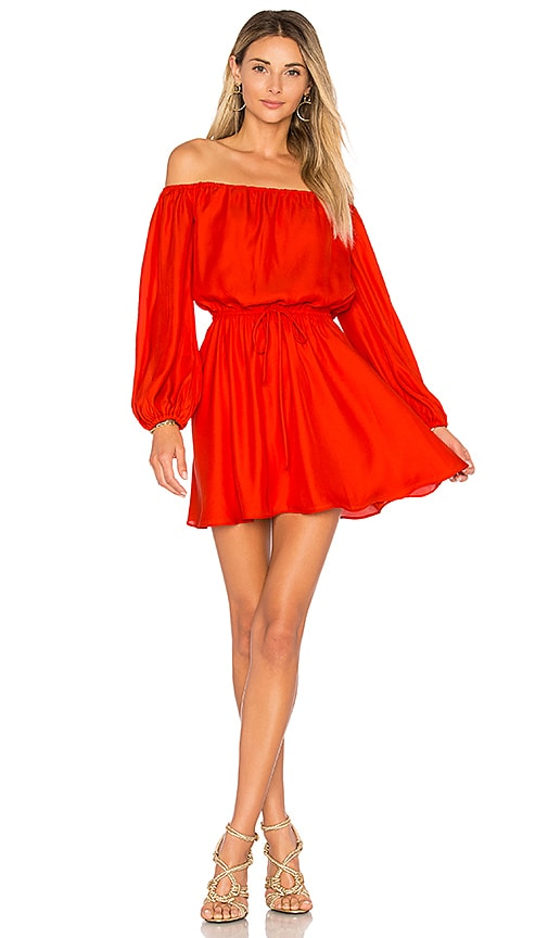 Lovers + Friends x REVOLVE World Traveler Dress in Red