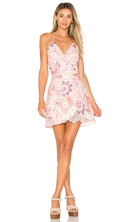 Lovers + Friends Soulmate Mini Dress in Pink