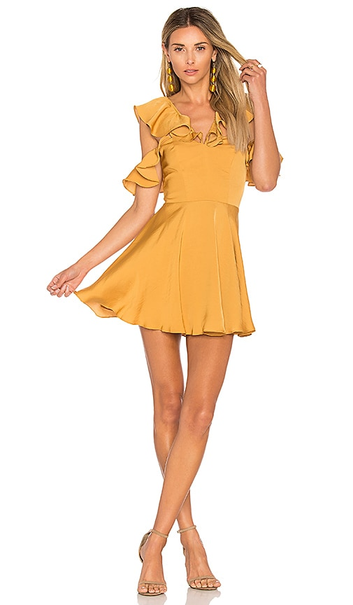 Lovers + Friends x REVOLVE Trophy Dress in Yellow