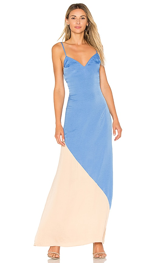 Lovers + Friends The Revival Dress in Blue