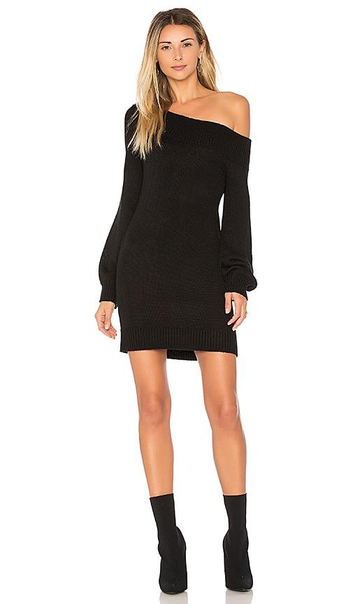 Lovers + Friends X REVOLVE Fun Seeker Sweater Dress in Black
