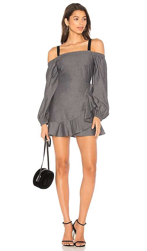 Lovers + Friends x REVOLVE Chance Dress in Charcoal