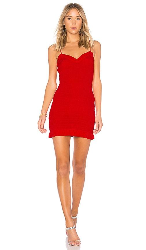 Lovers + Friends Monaco Dress in Red