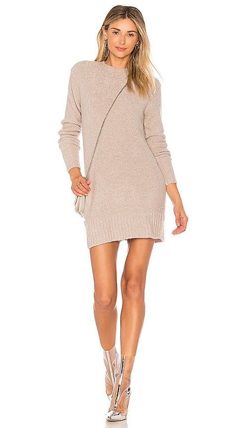 Lovers + Friends Ash Sweater Dress in Light Heather Grey | REVOLVE