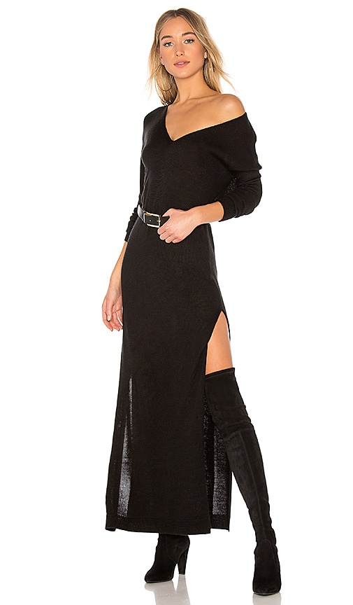 Lovers + Friends Breathtaking Dress in Black