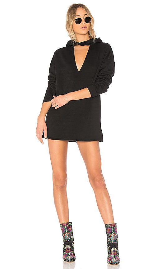 Lovers + Friends x REVOLVE Cate Sweatshirt Dress in Black