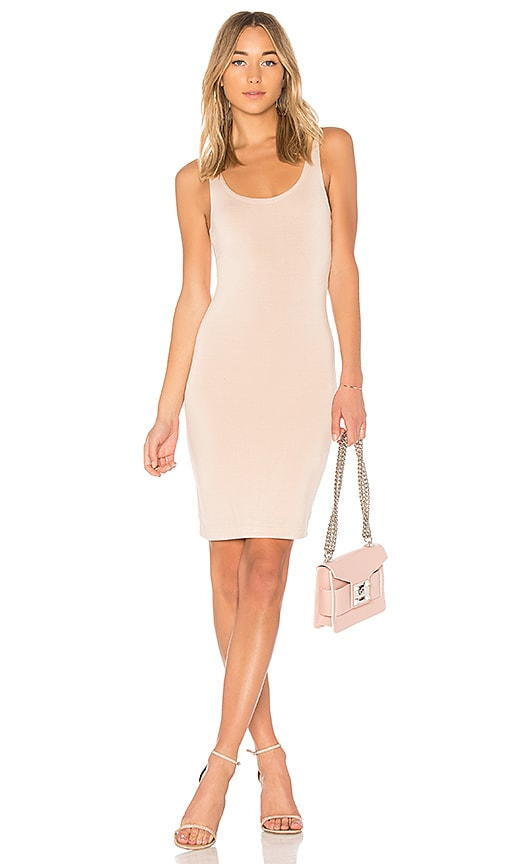 Lovers + Friends Tank Midi Dress in Cream
