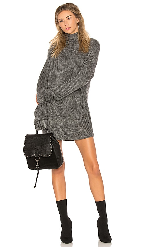 Lovers + Friends Madrona Dress in Gray