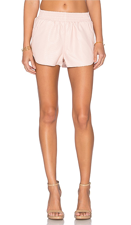 Lovers + Friends x REVOLVE Soccer Short in Beige