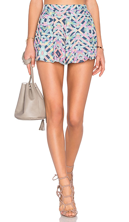 Lovers + Friends Sasha Shorts in Blue