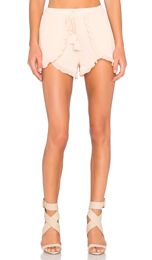 Lovers + Friends Serene Short in Papaya