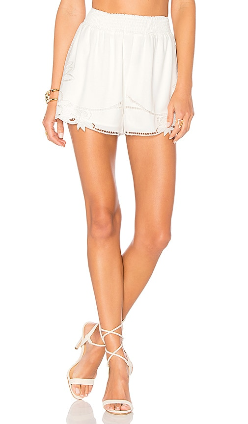 Lovers + Friends Dita Shorts in White