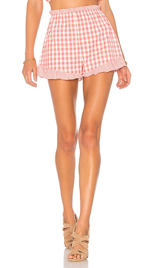 Lovers + Friends Tyler Short in Coral