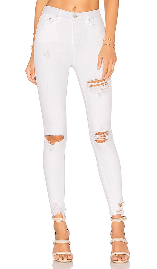 Lovers + Friends Mason High-Rise Skinny Jean in Garibaldi