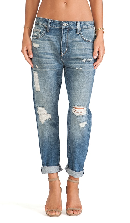 Jeremy High Waisted Boyfriend Jean