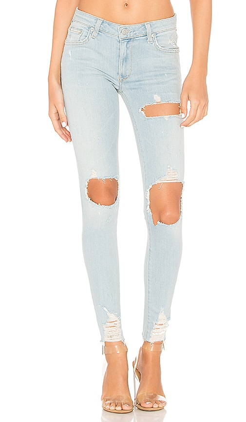Lovers + Friends Ricky Skinny Jean in Seabright