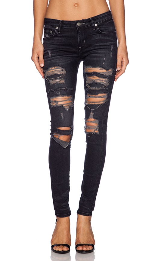 Ricky Skinny Jean with Chains