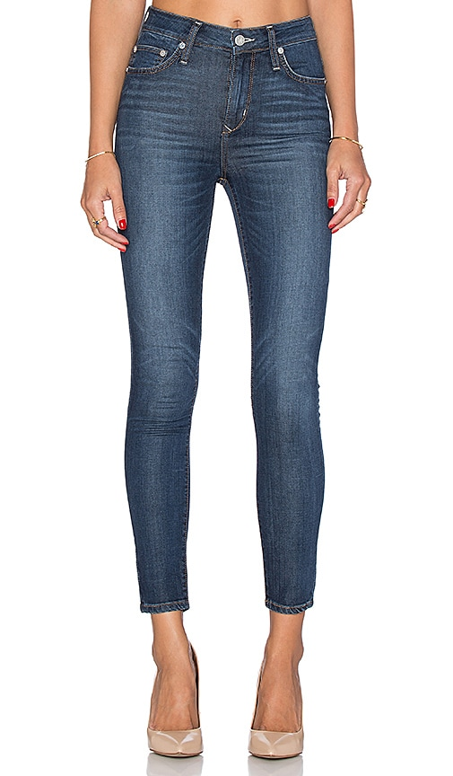 Lovers + Friends Mason High-Rise Skinny Jean in Yale