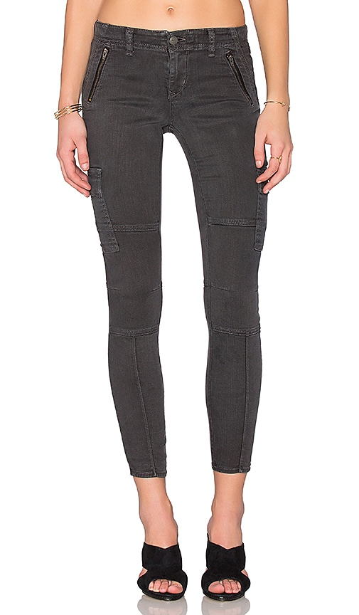 Lovers + Friends Liam Skinny Cargo Jean in Vine