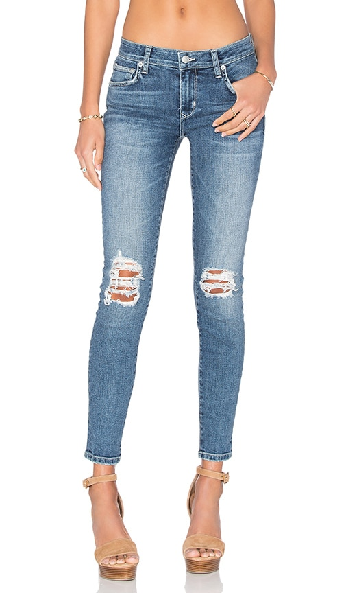 Lovers + Friends Ricky Skinny Jean in Corona