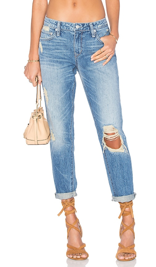 Lovers + Friends Ezra Slim Boyfriend Jean in Hooper