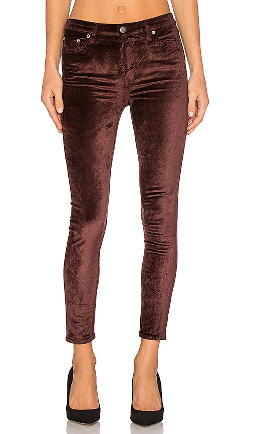 Lovers + Friends x REVOLVE Mason High-Rise Skinny Jean in Brown
