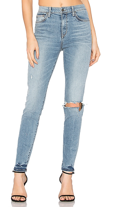 Lovers + Friends Mason High-Rise Skinny Jean in Wesley