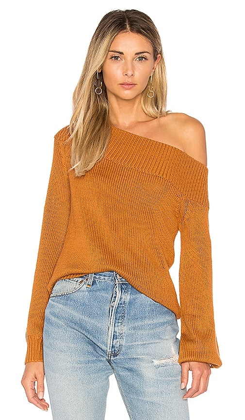 Lovers + Friends x REVOLVE Fun Seeker Sweater in Burnt Orange