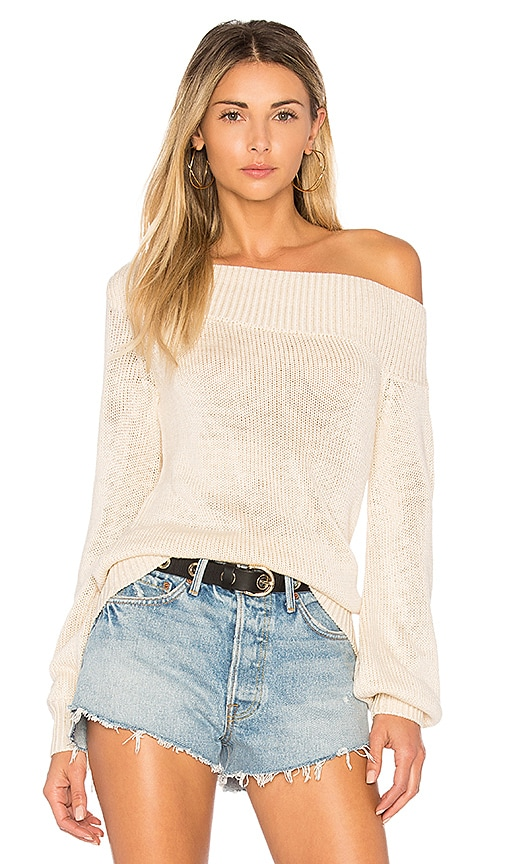 Lovers + Friends x REVOLVE Fun Seeker Sweater in Cream