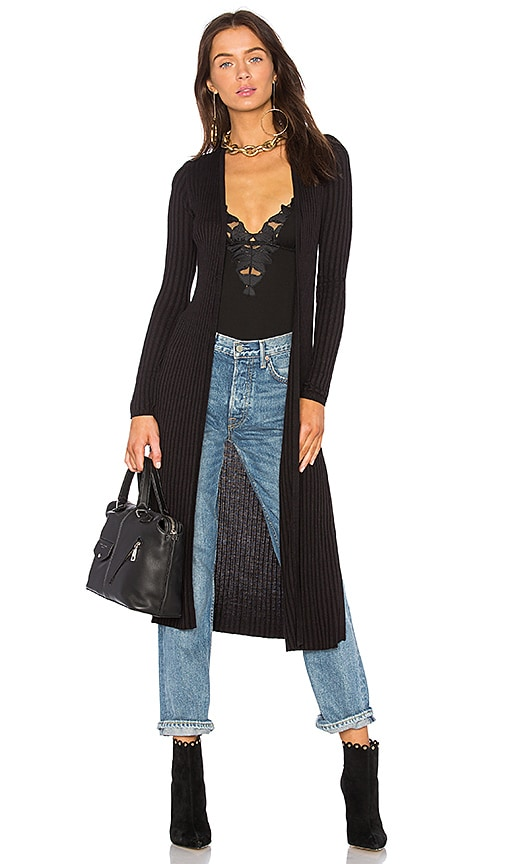 Lovers + Friends x REVOLVE Davenport Cardigan in Black