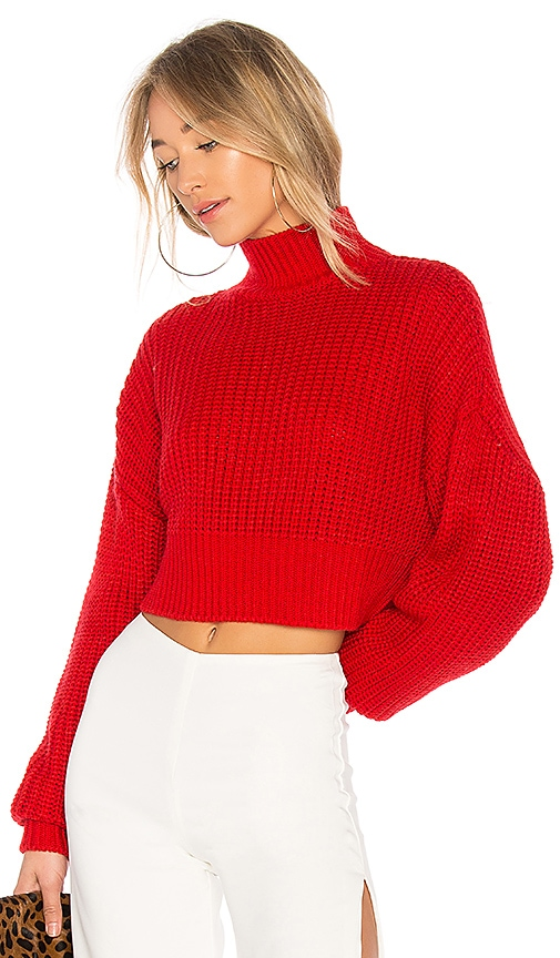 Lovers + Friends x REVOLVE Union Sweater in Red
