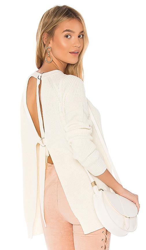 Lovers + Friends x REVOLVE Seneca Sweater in Ivory