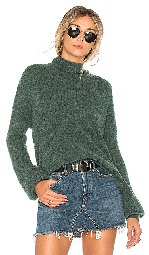 Lovers + Friends Independent Sweater in Green