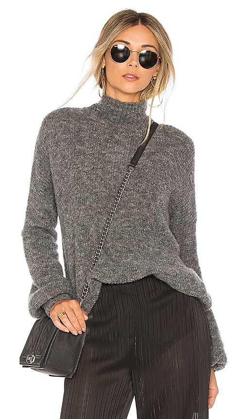 Lovers + Friends Independent Sweater in Gray