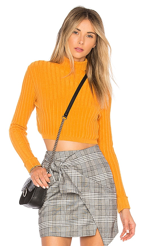Lovers + Friends You Go Girl Sweater in Yellow
