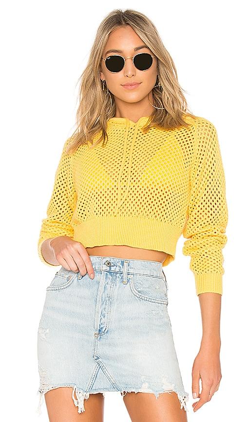 Lovers + Friends Emma Sweater in Yellow
