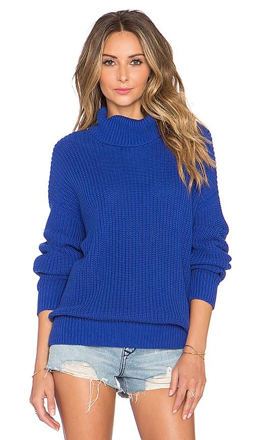 Lovers + Friends x REVOLVE Alexa Sweater in Dark Navy
