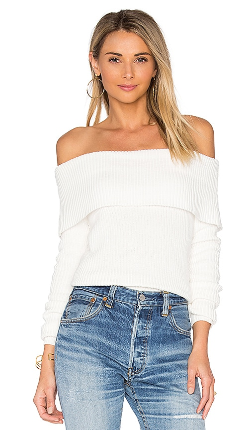 Lovers + Friends x REVOLVE Vylette Sweater in White