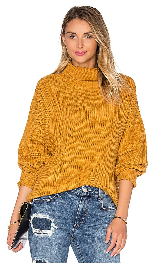Lovers + Friends Alexa Sweater in Yellow