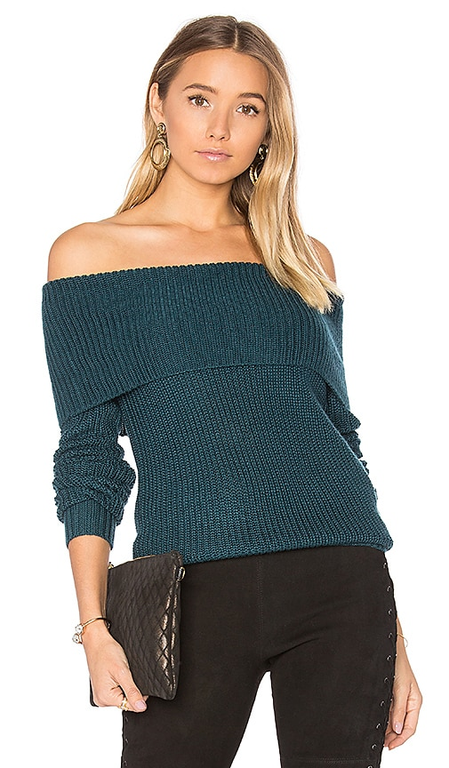 Lovers + Friends x REVOLVE Luna Sweater in Teal
