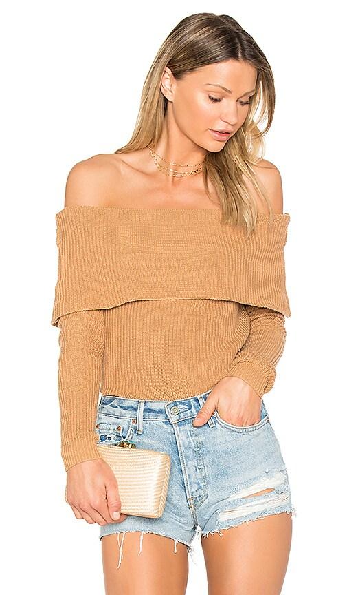 Lovers + Friends x REVOLVE Vylette Sweater in Tan