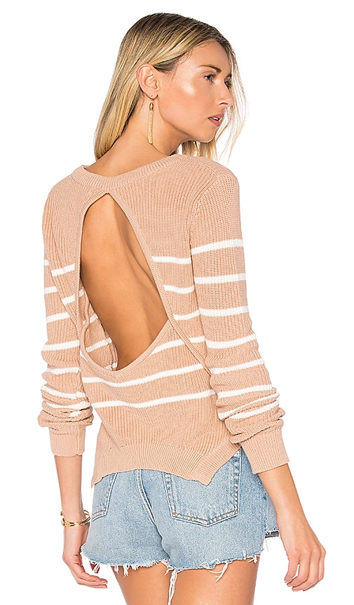 Lovers + Friends x REVOLVE Bright Sea Sweater in White