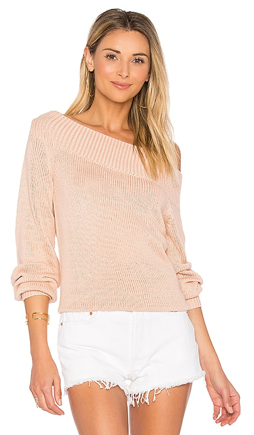 Lovers + Friends x REVOLVE Lucas Sweater in Pink