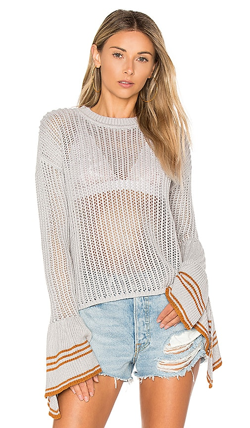 Lovers + Friends x REVOLVE Blown Sweater in Gray