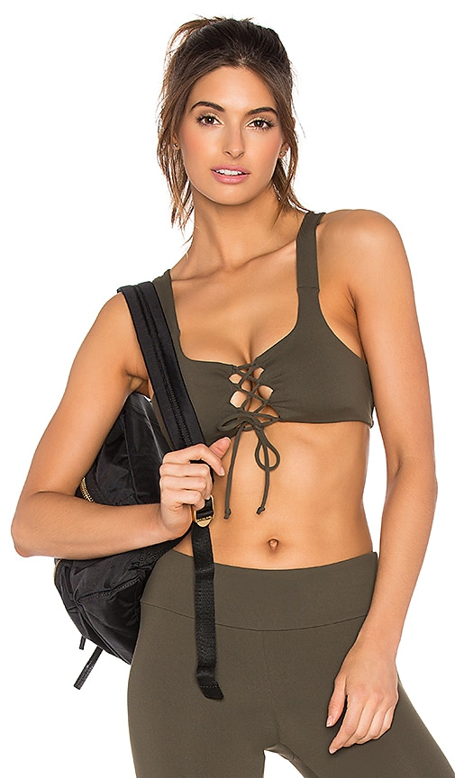 WORK by Lovers + Friends Prima Lace Up Bra