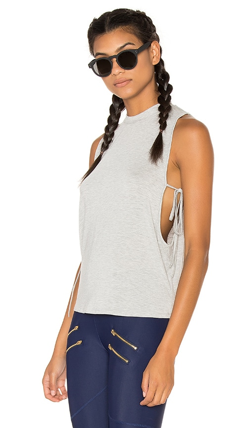 Lovers + Friends WORK by Lovers + Friends Leisure Tank in Gray
