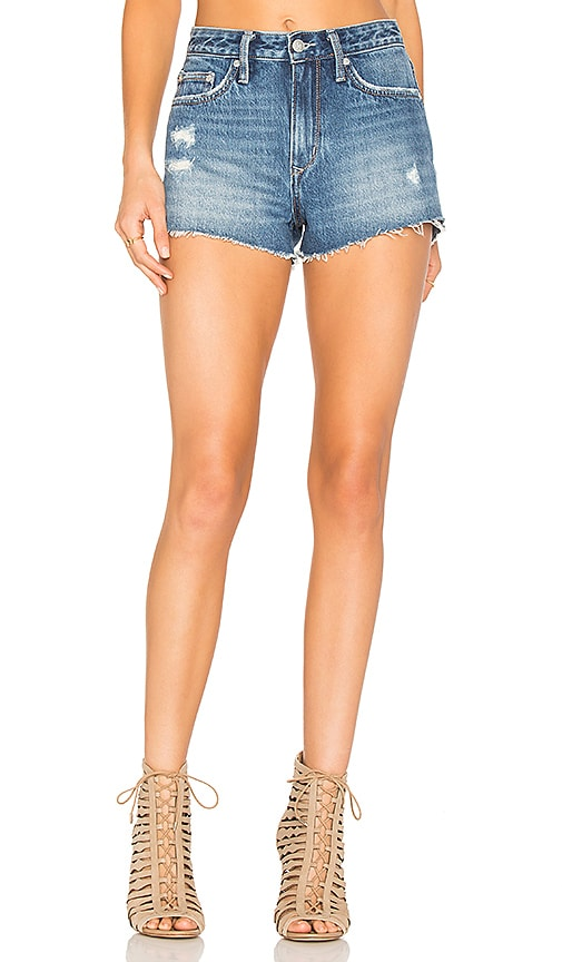 Lovers + Friends Jack High-Rise Shorts in Bradford